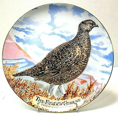 The Famous Grouse Finest Scotch Whiskey Limited Edition Collectable Plate 10 3/8