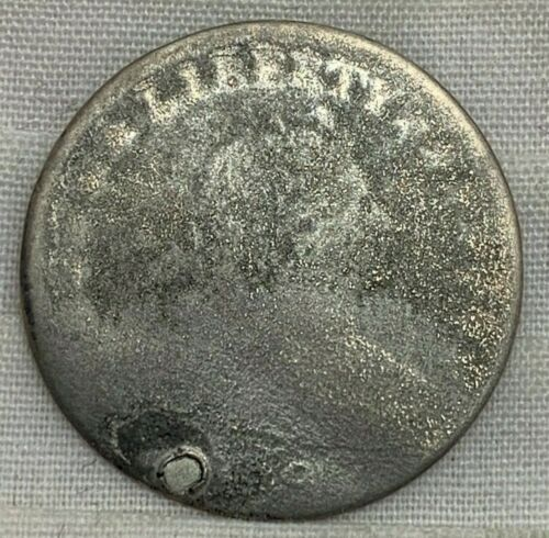 1796 Draped Bust Dime 10¢ Holed Plugged Pitted Poor Details