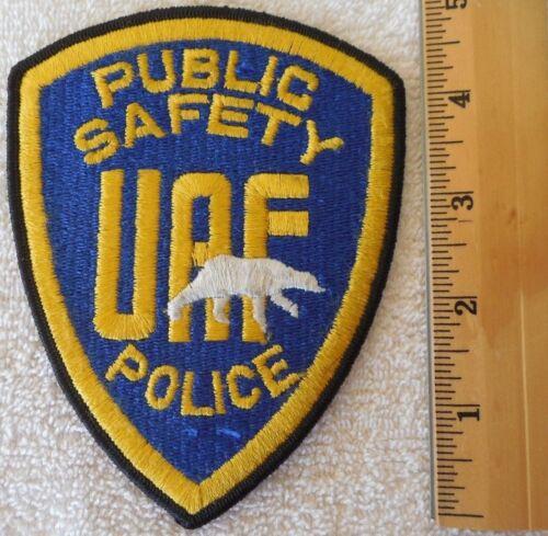 UAF PUBLIC SAFETY POLICE PATCH (HIGHWAY PATROL, SHERIFF, EMS)