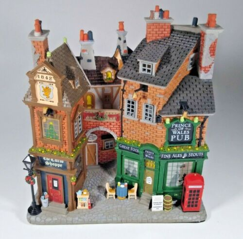 Lemax Essex Street Facade - English Lane - Prince Of Wales Pub