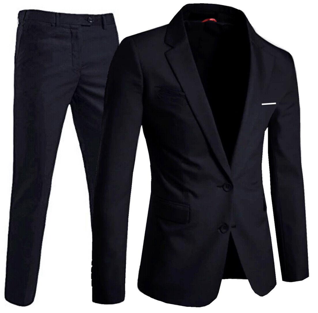 Keskin Collection Herren Anzug Schwarz Slim Fit Modell CEM alle Größen Neu Edel