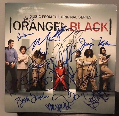 Orange Is The New Black Signed 12  Lp Regina Spektor Taylor Schilling