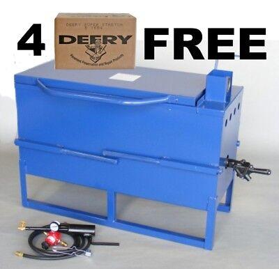 30 Gal Melter, Crack Filling Equipment, 120# of Deery Crack Filler Free