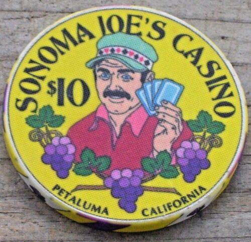 $10 LTD NORTH BAY POKER CLASSIC CHIP FROM SONOMA JOE