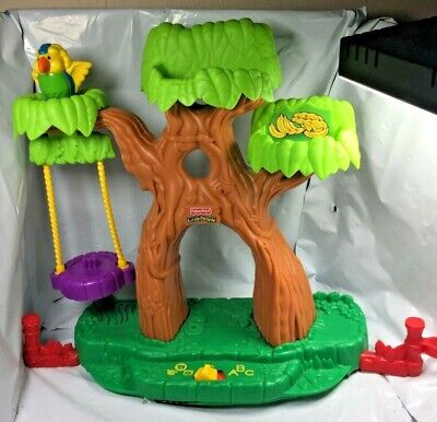 Fisher Price Little People A to Z Learning Zoo Tree ABC Alphabet Not Tested