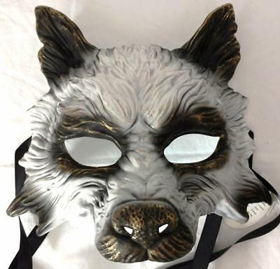 Werewolf Wolf Horror Mask Halloween Cosplay Monster Gothic Pagan Animal Costume - Pagan Halloween Mask