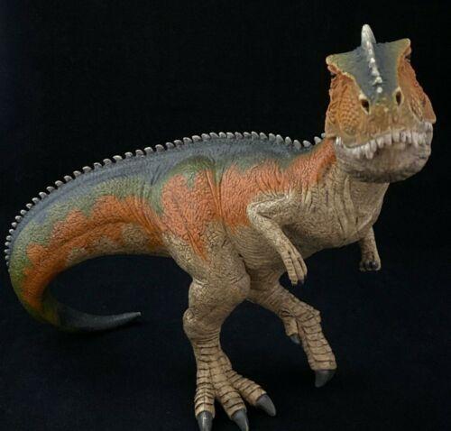 Schleich Tyrannosaurus Rex T-REX Dinosaur Moveable Jaw D-73527 Rainbow Figure