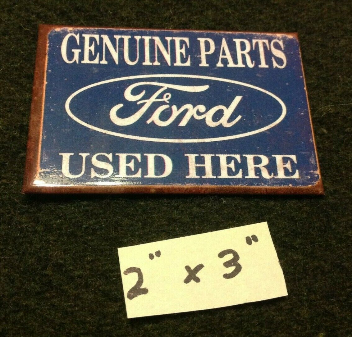 ford genuine parts used here tin ice