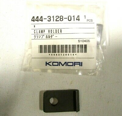 New Komori Printing Press Clamp Holder 444-3128-014 Genuine Oem Offset Printer