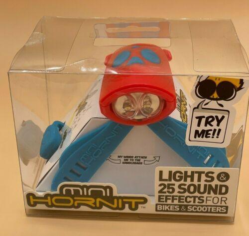 Mini Hornit Blue Bike or Scooter Light Red    #248