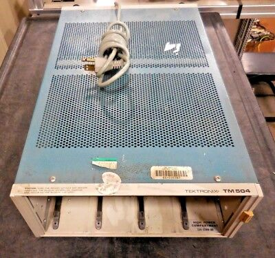 Tektronix Tm504 334-2380-00 High Power Compartment Chassis No Modules
