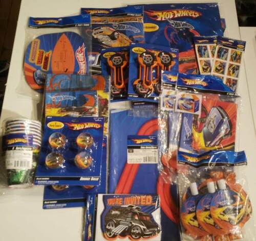 Hot Wheels Birthday Party (17 Packages) Birthday Party Decoration