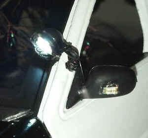 1/18 Scale Working LED Light Up Spotlight for Custom Diecast Police Car Models
