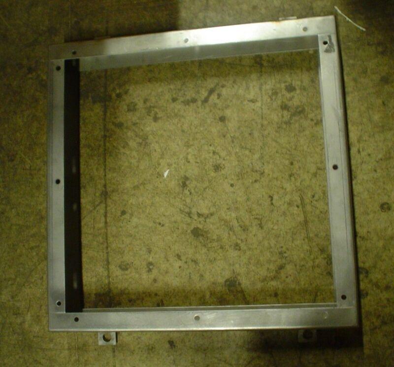 stainless steel plinth base 24 x 24 x 3  - 60 day warranty