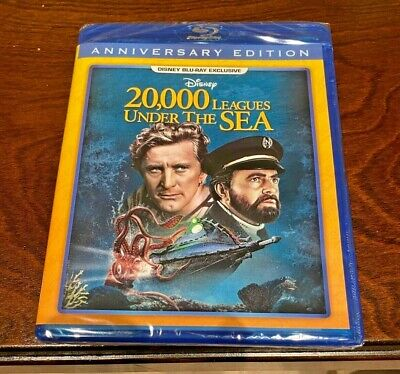 WALT DISNEY 20,000 LEAGUES UNDER THE SEA BLU-RAY MOVIE! RARE EXCLUSIVE MINT DISC