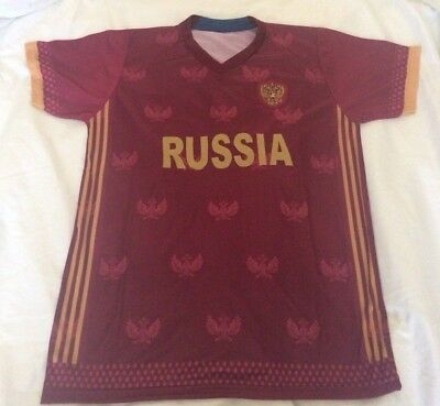RUSSIA SOCCER JERSEY 2018 CUP WORLD MOSCOW fútbol Copa Mundial image