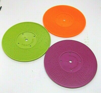 Fisher Price Records for Music Box Record Player 6 Songs 3 Record Replacements