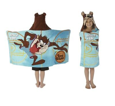 Space Jam A New Legacy Hooded Towel Wrap 24 X 50 In New