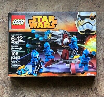 Lego Star Wars 75088 Senate Commando Troopers Retired