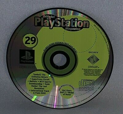 Official Playstation Magazine February 2000 Demo Disc Only #29