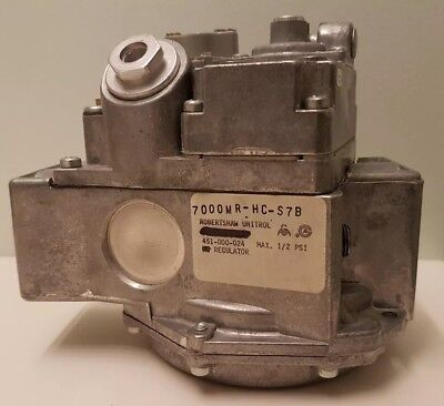Robertshaw Gas Valve 700-114 Thermocouple Type Magnet 7000mr-hc-s7b Slow Opening