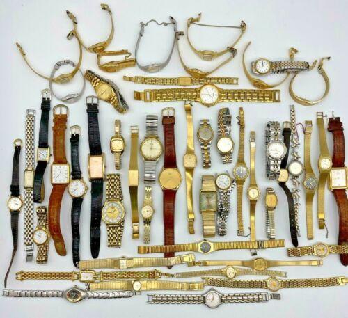 Lot of 50 SEIKO Watches, Modern & Vintage, Mechanical, Quartz, Men
