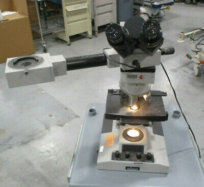 Reichert Microstar Iv Medical Laboratory Microscope Extension - 4 Objectives