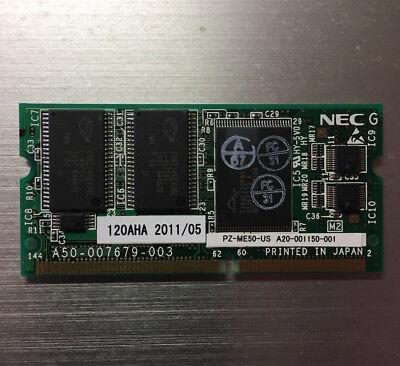 (NEC Univerge SV8100 PZ-ME50-US 670525 Memory Expansion Daughter Board Card WRNTY)