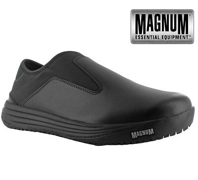 MAGNUM LEATHER MENS WATERPROOF NON- SAFETY  WORK SHOES CLOGS TRAINERS BOOTS - Waterproof Leather Non Insulated Boot