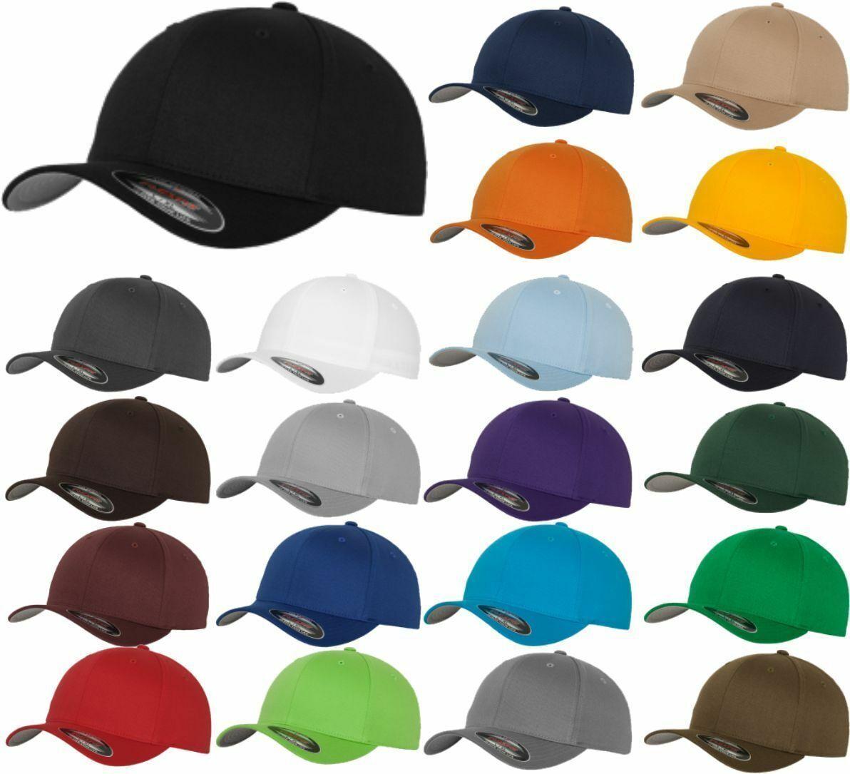 ORIGINAL FLEXFIT CAP FLEX FIT KAPPE BASECAP CAPS TRUCKER KAPPEN NEU  ALLE FARBEN