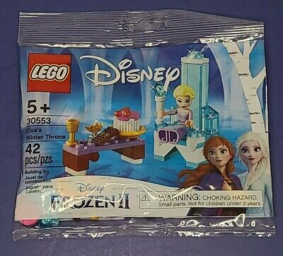 Lego 30553 Disney Frozen 2 Elsa's Winter Throne Polybag 30553 New Sealed Elsa