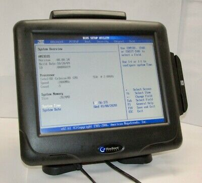 Ncr Radiant P1560 15 Touch Screen Pos Terminal Needs Hdd 2ghz 2gb Ram Tested