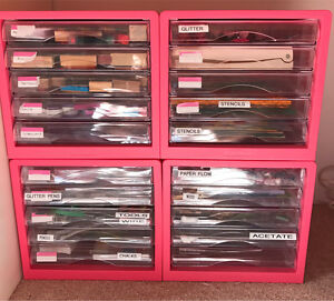 4 Storage Drawers $50 Southern River Gosnells Area Preview