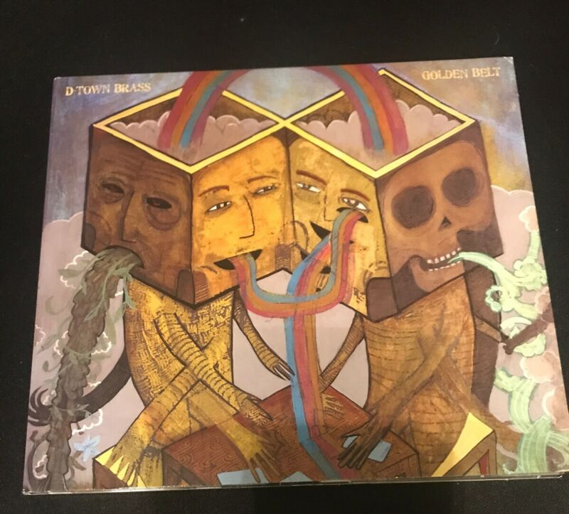 D-Town Brass Golden Belt (CD)