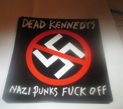 DEAD KENNEDYS STICKER NEW 2016 VINTAGE OOP RARE COLLECTIBLE
