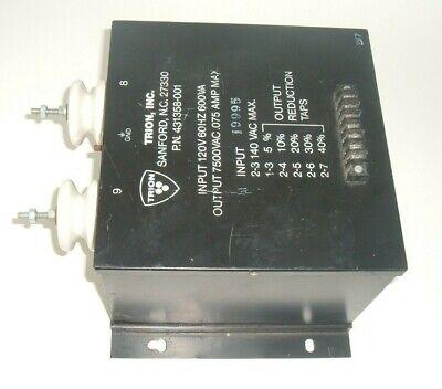 Trion Inc Power Supply 431358-001 High Voltage Transformer