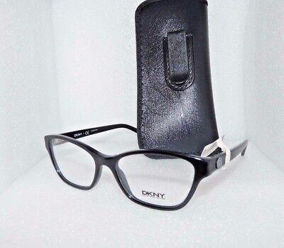 NEW DKNY DY 4644 3001 EYEGLASSES GLASSES FRAMES 53-16-140 BLACK WOMEN CAT EYE