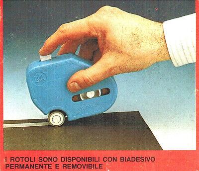 COCCINELLA DISPENSER BVA CON BIADESIVO RICARICABILE +REFIL 9. x 6mt.