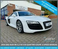 2010 Audi R8 V10 QUATTRO 5.2 FSI SOUGHT AFTER 6 SPEED MANUAL Coupe Petrol Manual