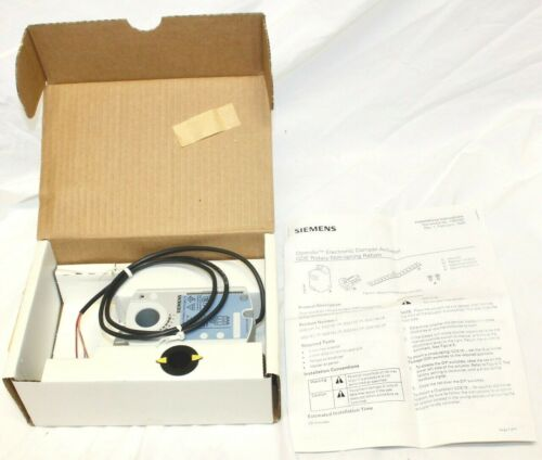 Siemens OpenAir Electronic Damper Actuator GDE131.1P / NEW in BOX
