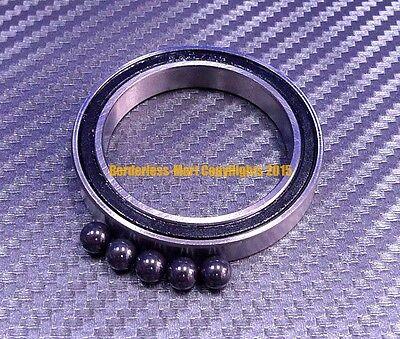 Qty 1 6703-2rs 17x23x4 Mm Hybrid Ceramic Rubber Ball Bearing Bearings 6703rs