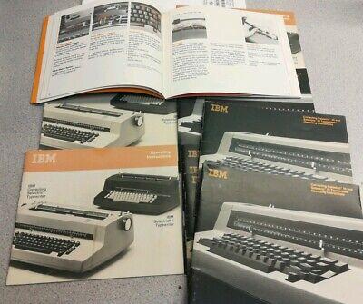 Ibm Selectric Iiiii Typewriter Part - Operators Manual Users Guide Vintage