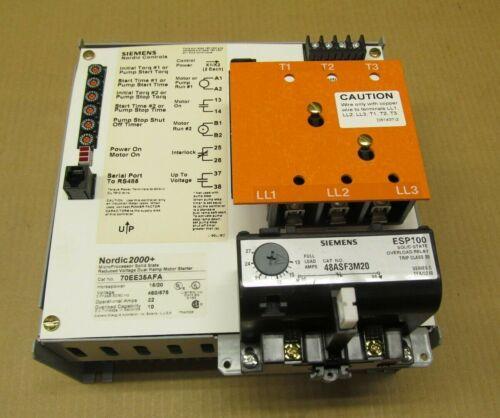 1 NIB SIEMENS FURNAS DUAL RAMP MOTOR STARTER 15HP @ 460V 20HP @ 575V (4 AVAIL)