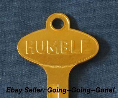 Vintage Humble Oil Co Key Blank Ford Lincoln Mercury Edsel 1958 1966 1127Du Gold
