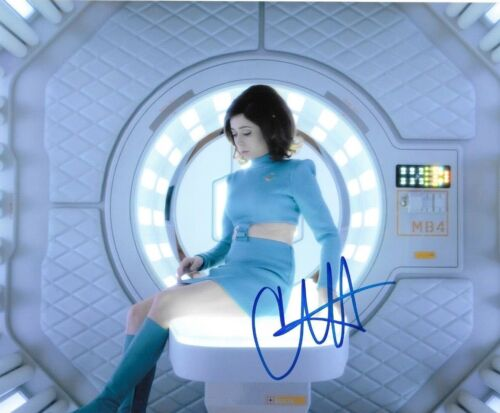 * CRISTIN MILIOTI * signed autographed 8x10 photo * BLACK MIRROR * COA * 2