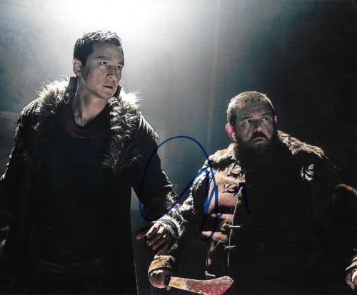 * NICK FROST * signed autographed 8x10 photo * INTO THE BADLANDS * 1