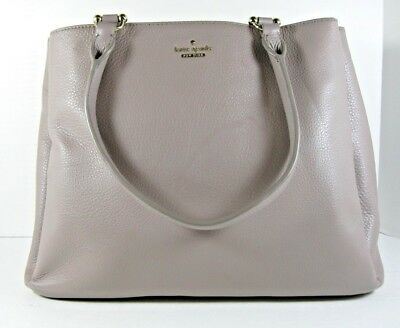 Kate Spade Nwt Taupe Stadtbild Lombard Street Hand Schultertasche Offen