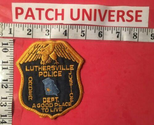 LUTHERSVILLE  GA  POLICE SHOULDER PATCH  F028