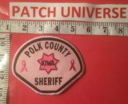 POLK COUNTY  IOWA SHERIFF  SHOULDER PATCH  L003