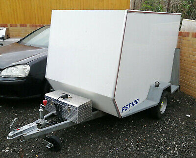 White Box Trailer Tow A Car Motor Home Van Market 750kg Capacity Ready To Go